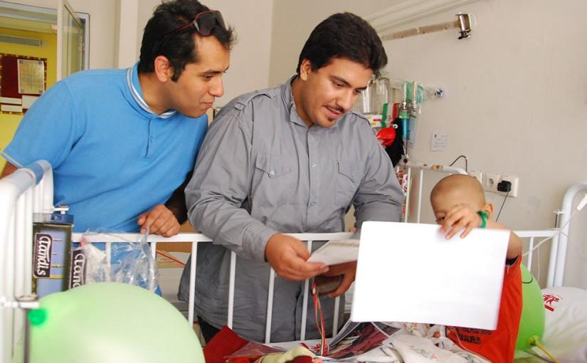نیمه شعبان ۹۳ در بیمارستان کودکان بهرامی
