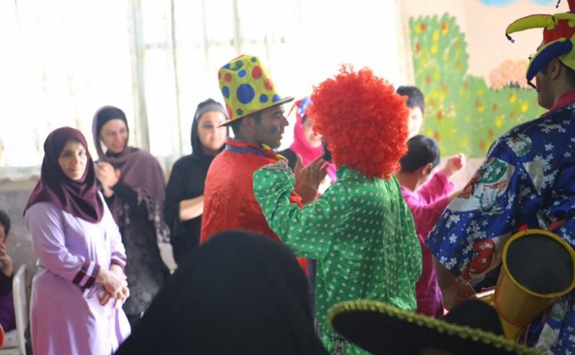 جشن روز دختر در آسایشگاه معلولین وحدت