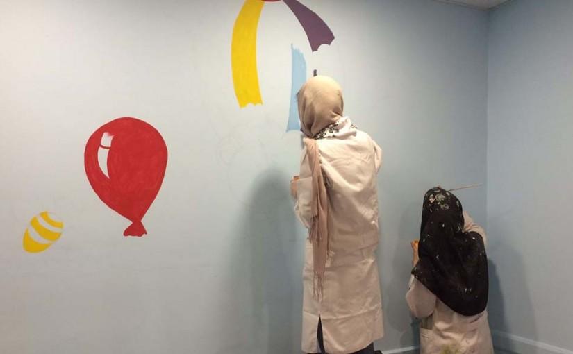 اتمام بازسازی آزمایشگاه بیمارستان کودکان بهرامی