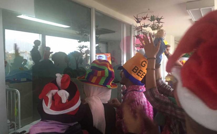 جشن عیادت نوروزی از مراکز و بیمارستان های کودکان