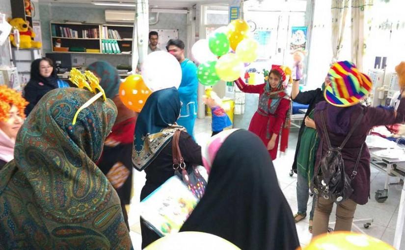 جشن عید مبعث در بیمارستان کودکان بهرامی