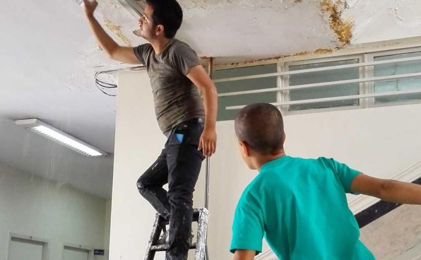 اتمام بازسازی مرکز نگهداری کودکان کار یاسر