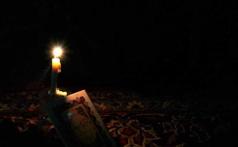 مراسم افطار و شب احیا به میزبانی کودکان فرشتهاند