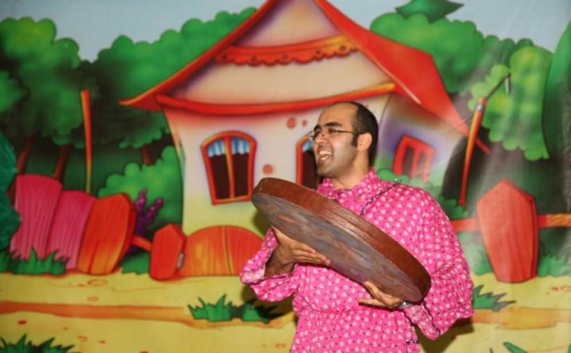 اجرای تئاتر کودکان در بیمارستان کودکان بهرامی