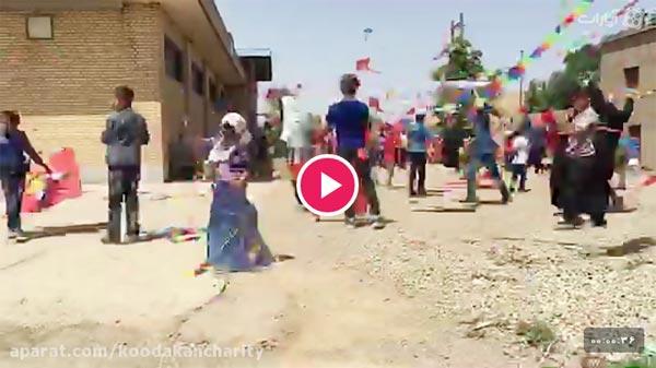جشن بادبادک های کودکان فرشته اند در کوره های آجر پزی