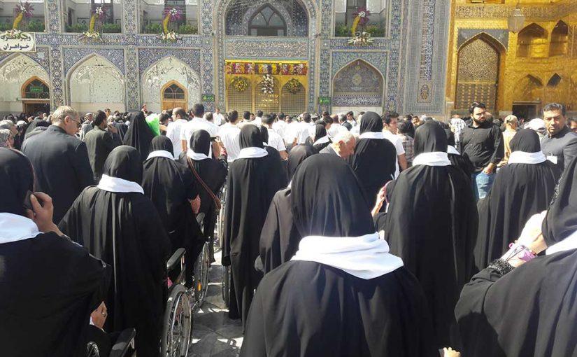 سفر ۱۵۰ نفری کودکان مبتلا به سرطان به مشهد مقدس
