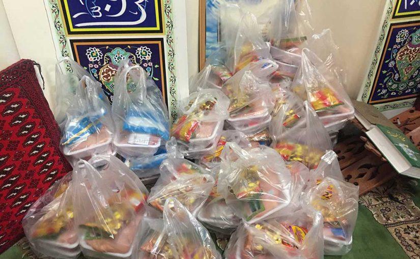طرح توزیع لباس شب عید و بسته غذایی بین ۶۰ کودک