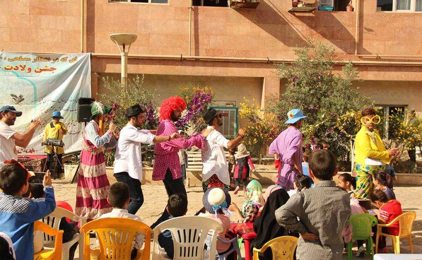جشن بزرگ نیمه شعبان در ۱۶ مرکز کودکان