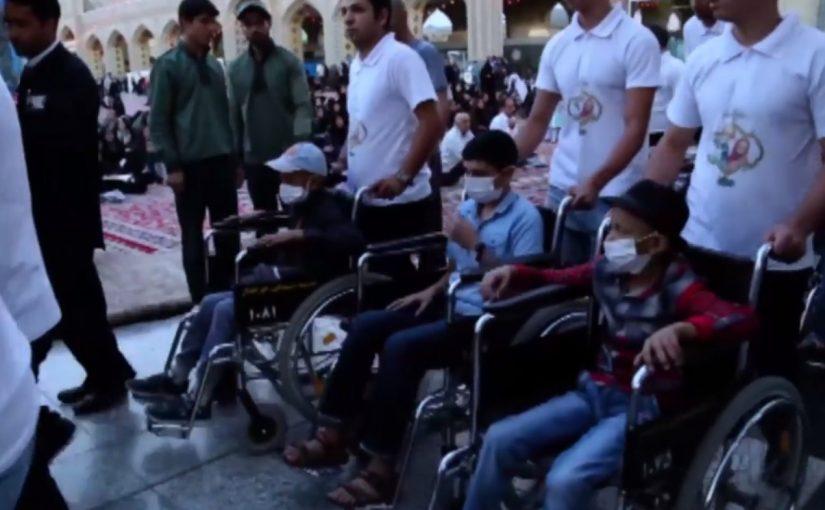 نماهنگ ویژه سفر مشهد گروه کودکان فرشتهاند