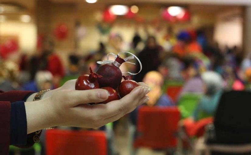 جشن شب یلدا در بیش از ده مرکز در سه روز متوالی