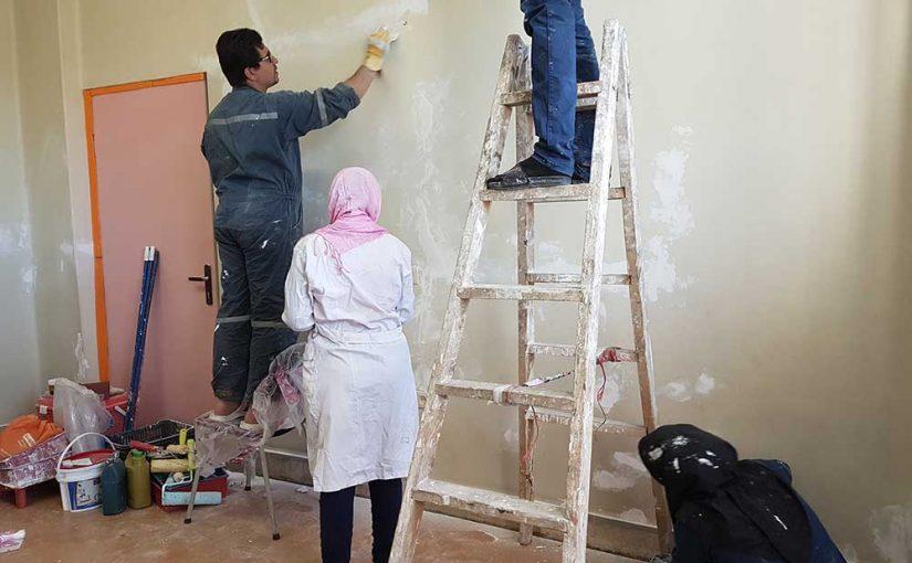 بازسازی مرکز روانپزشکی تهران به همت داوطلبین