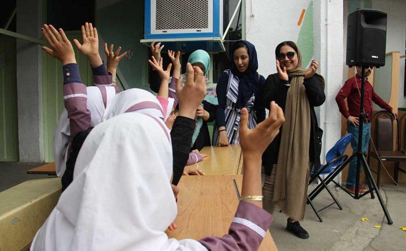 جشن روز بهداشت در مدرسه ایلیا در شهر ری