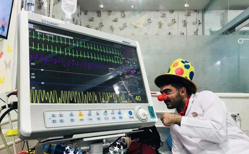 جشن عیادت در یمارستان بوعلی ساری، بیمارستان علی اصغر و بیمارستان کودکان بهرامی