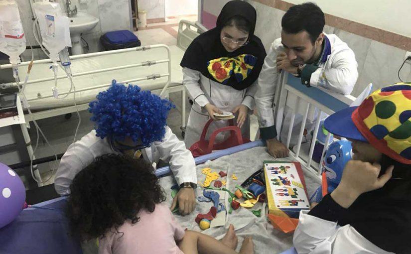 جشن عیادت در بیمارستان بوعلی ساری و بیمارستان بهرامی
