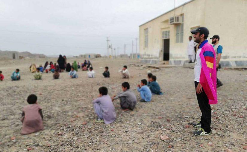 گزارش اردوی جهادی کودکان فرشتهاند در مناطق محروم سیستان