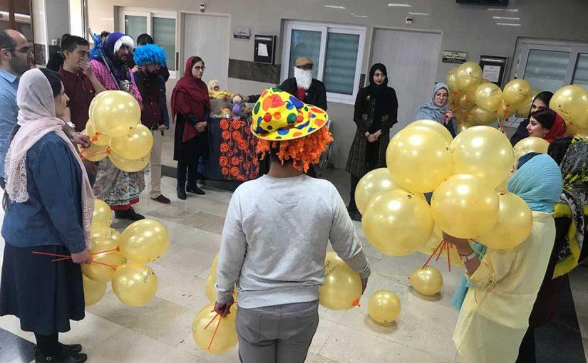 برنامه اجرایی در ۸ مرکز تهران بصورت همزمان توسط داوطلبین عزیز
